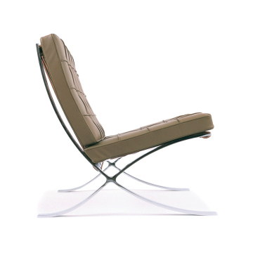 Mobiliário caseiro barcelona chair by italian leather