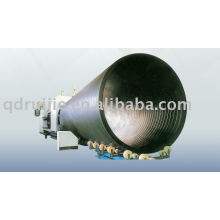 HDPE Large-diameter Hollow-wall Wound Pipe extrusion machine