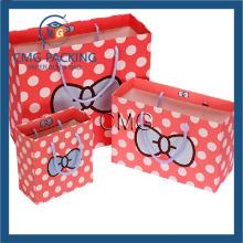 Cute DOT Bow Gift Bags Shopping Paper Bag