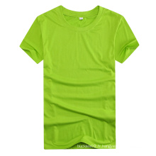 2016 Polyester manches courtes O Neck Custom T Shirt pour les hommes