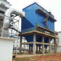 Rotary back blow bag type dust collector