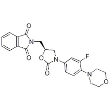 1H-Isoindole-1,3(2H)-dione,2-[[(5S)-3-[3-fluoro-4-(4-morpholinyl)phenyl]-2-oxo-5-oxazolidinyl]methyl] CAS 168828-89-5