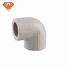 Hot sell plastic material ppr pipe fitting gray elbow china supplier
