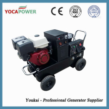 5kVA Gasoline Portable Welding Electric Generator Petrol with Air Compressor