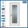 JHK Stained Frosted Glass Interior Kitchen Cabinet Door