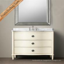Fed-1676 De alta calidad vanidad de baño, gabinete de baño de madera maciza