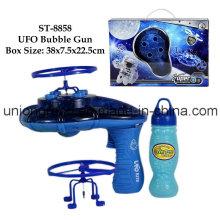 Pistola de burbujas ovni