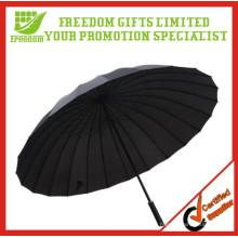 Promotion Kissen Griff Werbe 24K Rib Regenschirm