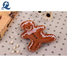 Großhandel benutzerdefinierte menschliche Form kleine Dessert Keramikplatte