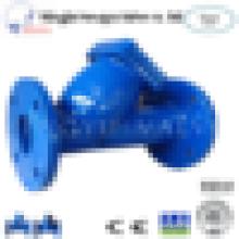 Горячие Продажа чугуна SS304 Фланец конце Y сетчатый фильтр