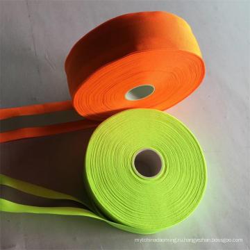 высокая светоотражающий Материал полиэстер лента безопасности светоотражающий одежда