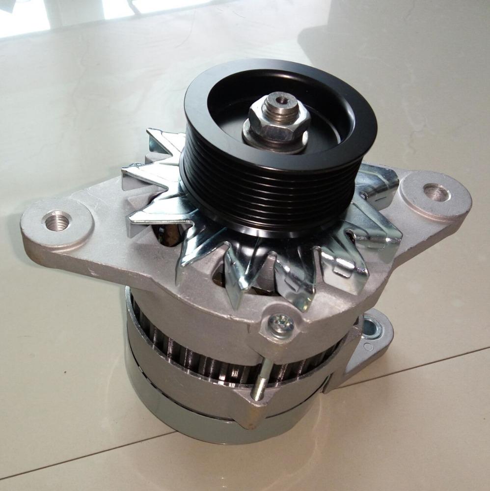 24V excavator electric alternator 600-821-6120 for PC200-5 alternator