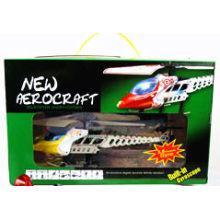 Helicóptero de sino peças de liga de rádio controle 3.5CH helicóptero w / LED