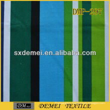 types of woven stripe cotton fabric