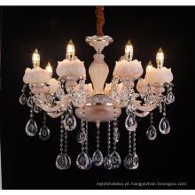 Liga de zinco tradicional guzhen lustre de vela de ferro forjado LT-88675