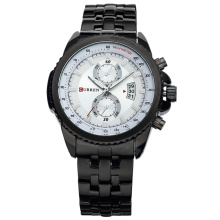 Stainless Steel Men Business Quartz Sport Watch