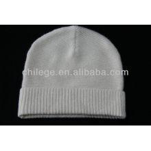 chapéus de malha de caxemira