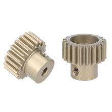 Memasang Steel Mini RC Helicopter Motor Pinion Gear