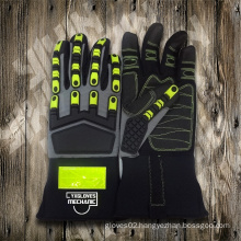 Mechanic Glove-Heavy Duty Glove-Industrial Glove-Protected Glove-Safety Glove