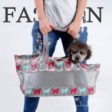 Pliable transporteur respirant Pet chiens chats animal de compagnie fourre-tout sac à main voyage pour animaux de compagnie