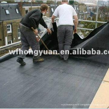 Membrane imperméable en caoutchouc imperméable de toiture d'EPDM avec la qualité (ISO)