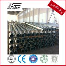 Poste eléctrico de acero galvanizado
