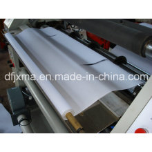 Máquina de corte e rebobinamento de rolos de cupão