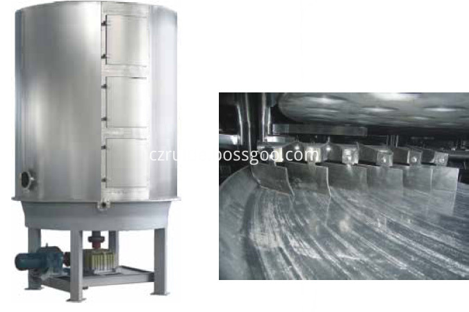 High Quality Continuous Disc Plate Dryer for Agricultural Industry