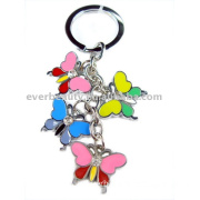 Butterfly Shaped Alloy Key Chain