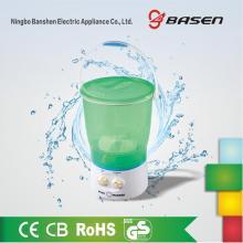 Green Plastic 2KG Mini Transparent Washing Machine