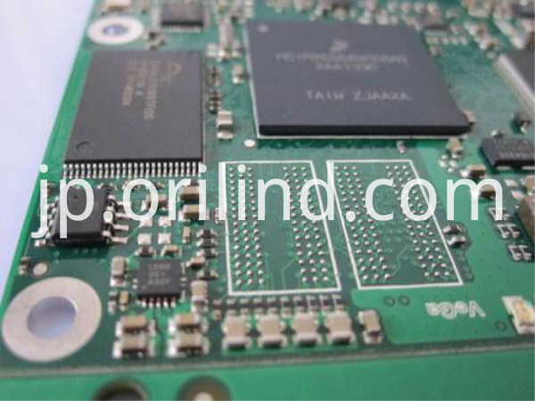 Component mounting for PCB