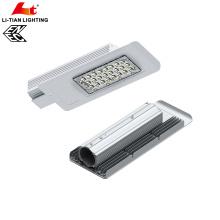 LED luz de calle mini tamaño alto lumen con Meanwell conductor IP66 LED luz de calle ENEC aprobado