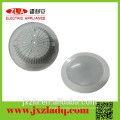 Professional big circular aluminum die casting radiator for led