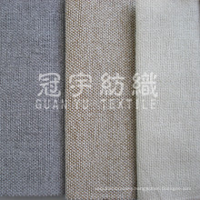 Polyester Linen Curtain Fabric for Home Textile