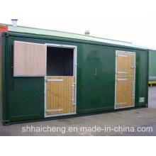 Caballo contenedor / caballo estable con puerta ancha (shs-fp-animal002)