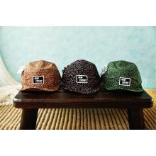 2014 en blanco 5 sombreros de paneles / 5 sombreros de panel y tapa de 5 paneles