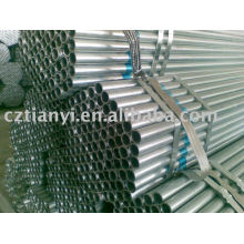 API Galvanized steel pipe(sch40)