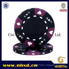14G 3-тональный туз-король, подходящий для покера Clay Poker (SY-E07)
