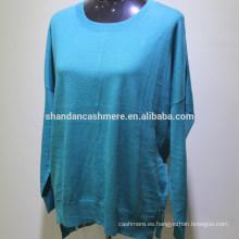 2015 nuevo diseño de la moda de punto de invierno cachemira mujer suéter jersey de cachemira