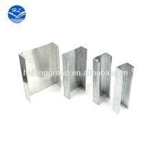Techo de chapa de metal / color revestido de acero galvanizado precio / placa galvanizada sumergida caliente, bobina de acero galvanizado de alta calidad, C