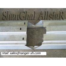Cadre de porte en acier métallique de haute efficacité profileuse