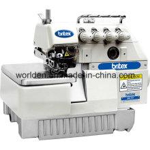 Br-747 4 hilos Industrial máquina de coser