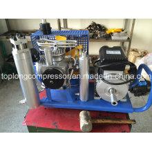 Compresseur de plongée à haute pression Compresseur respiratoire Paintball Air Compressor (GX100 / E3)