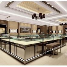 Custom-Juwelier Schaufenster und Zähler