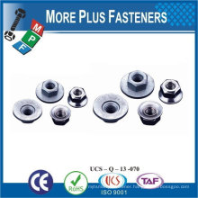 Made in Taiwan Stainless Steel Brass Aluminium Silicone Bronze Conical Washer KPS Nuts Nut and Washer Assemblies