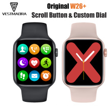 """W26+ smartwatch Customized Dials 1.75"""" Full Touch Screen"""