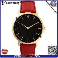 Yxl-016 Frauen Luxusmarke Quarzuhr Lederband Uhr Beste Damen Armbanduhren