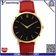 Yxl-016 mulheres de luxo da marca relógio de quartzo relógio pulseira de couro melhores senhoras relógios de pulso