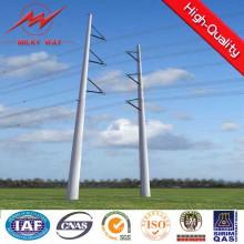 Pólo de aço de transmissão de energia 10kv (torre de tensão)