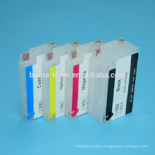 New refillable ink cartridge 950 951 Compatible For HP Officejet Pro 251dw 276dw Printers with autoreset chip